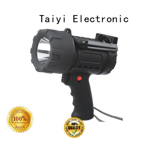 Taiyi Electronic spot brightest rechargeable spotlight series for sports