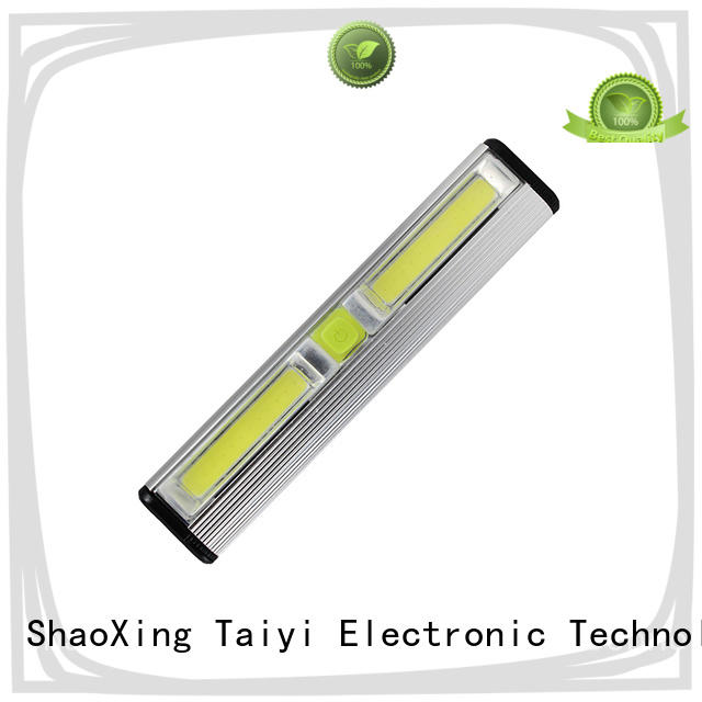 Taiyi Electronic dimmable portable rechargeable work lights supplier for roadside repairs