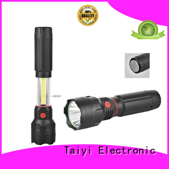 Taiyi Electronic durable best rechargeable work light detachable for roadside repairs