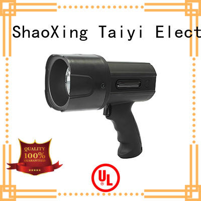 Taiyi Electronic professional best rechargeable spotlight series for vehicle breakdowns