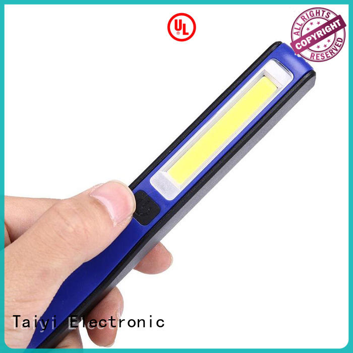 Taiyi Electronic rechargeable rechargeable led work light manufacturer for roadside repairs