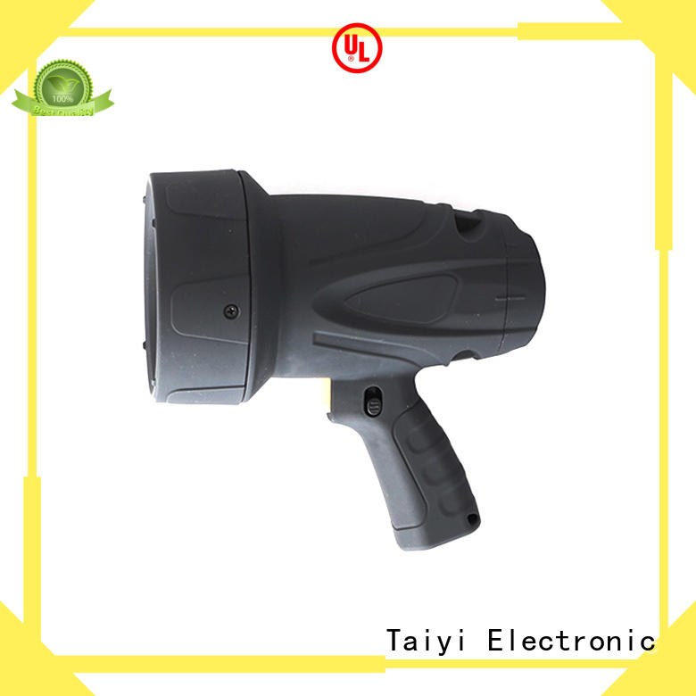 Taiyi Electronic battery brightest rechargeable spotlight wholesale for search