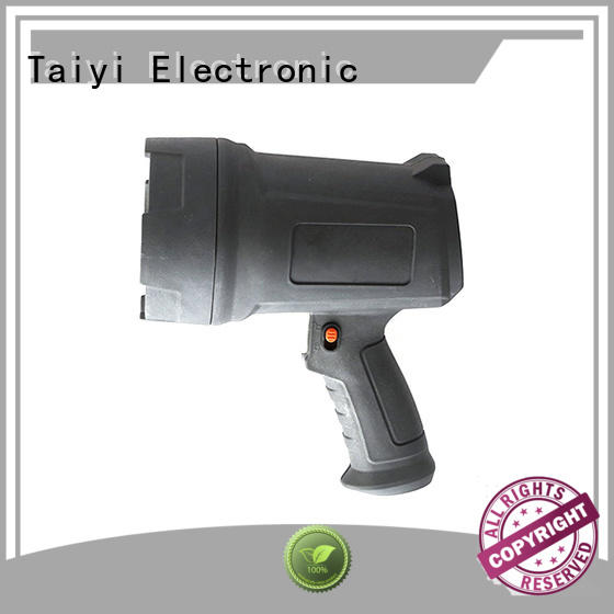 Taiyi Electronic outdoor halogen handheld spotlight manufacturer for vehicle breakdowns