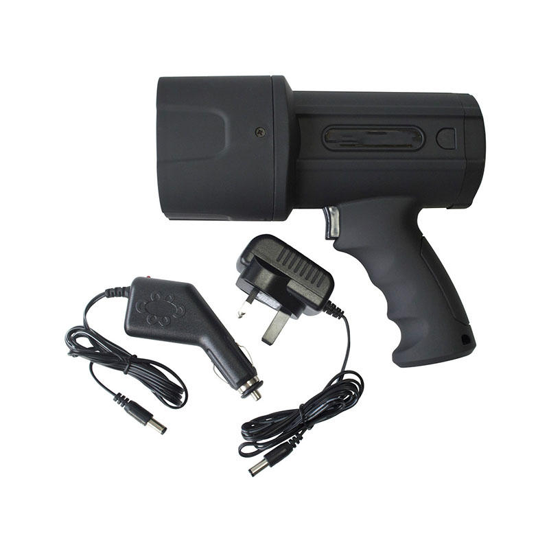 China Promotional Rechargeable Handheld Searchlight Spotlight