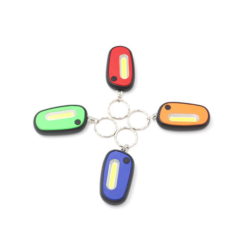 Colorful 1watt COB Mini Work Light Keychain