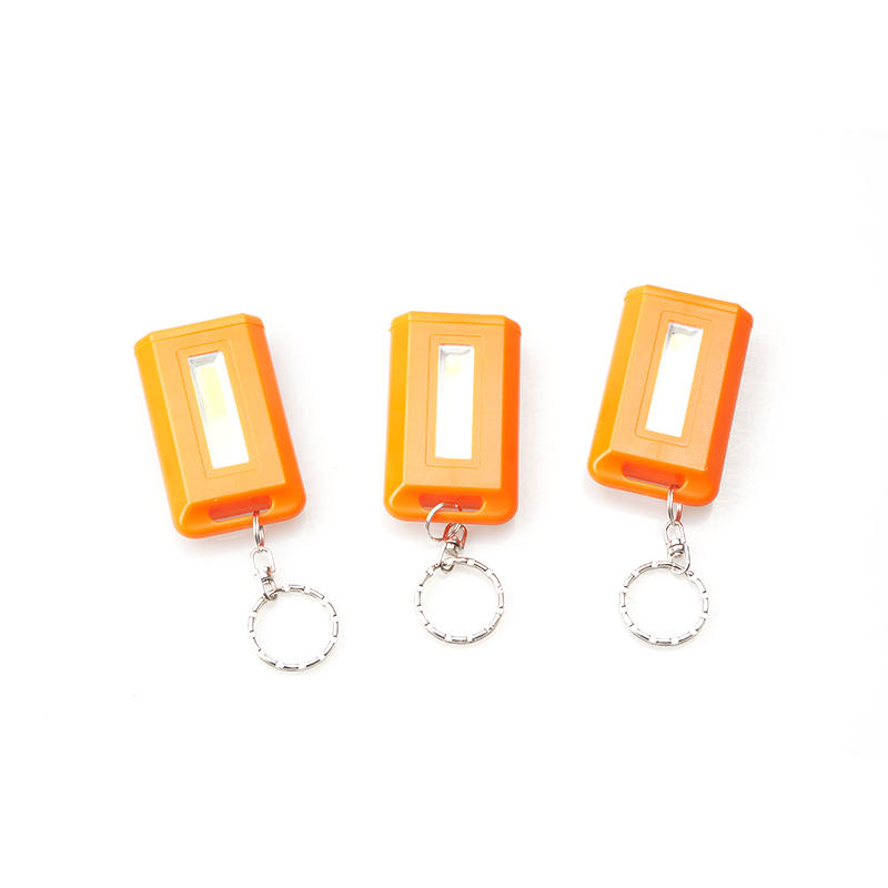 Super mini pocket COB keychain flashlight