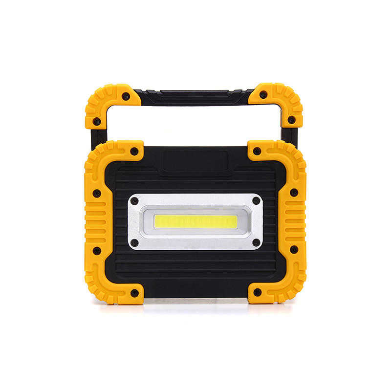 Portable square COB work light flood lantern