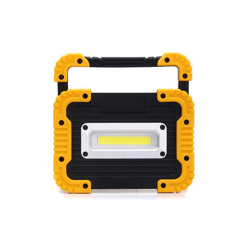 Portable square COB work light flood lantern