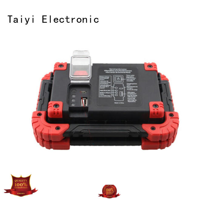 Taiyi Electronic stable portable work light supplier for roadside repairs