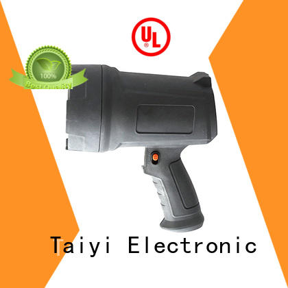 Taiyi Electronic well-chosen handheld battery spotlight manufacturer for search