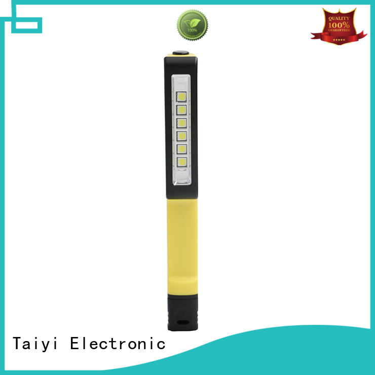Taiyi Electronic professional portable rechargeable work lights series for roadside repairs