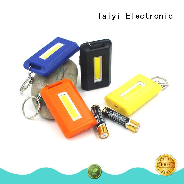 Taiyi Electronic high quality keychain led flashlight wholesale for multi-purpose work light