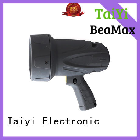 most powerful rechargeable spotlight stand for vehicle breakdowns Taiyi Electronic