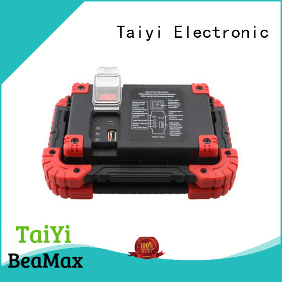 Taiyi Electronic dimmable handheld work light series for roadside repairs