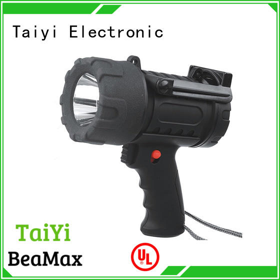 Taiyi Electronic high quality halogen handheld spotlight supplier for sports