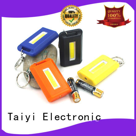 Taiyi Electronic rechargeable keychain led flashlight series for multi-purpose work light