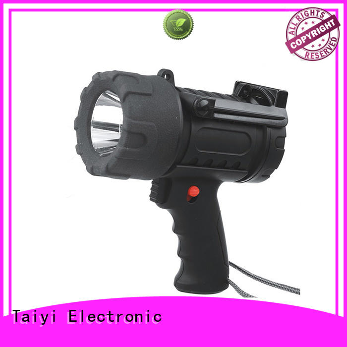 Taiyi Electronic durable portable spotlight with stand manufacturer for camping