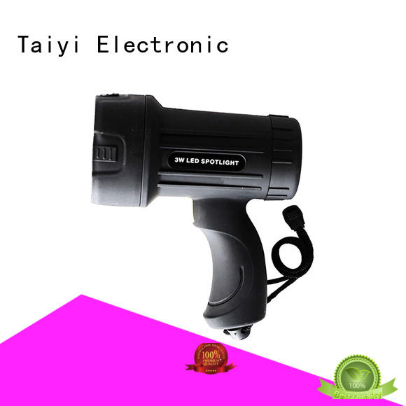 Taiyi Electronic spot led handheld spotlight supplier for sports