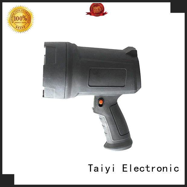 Taiyi Electronic reasonable handheld battery spotlight supplier for security