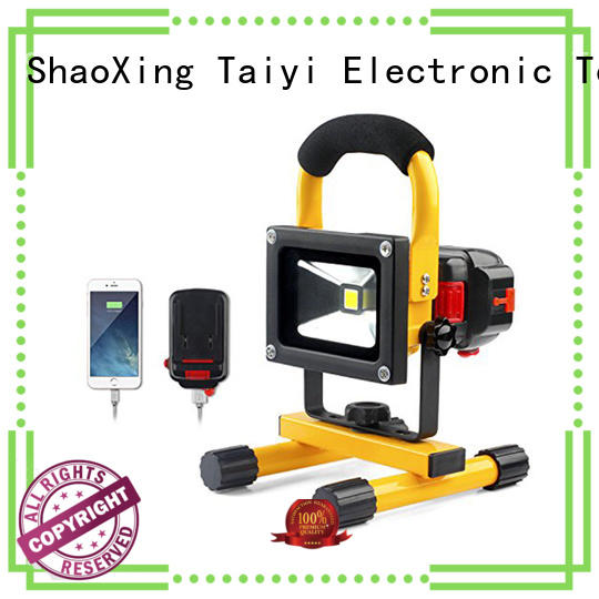 Taiyi Electronic online portable rechargeable work lights series for electronics