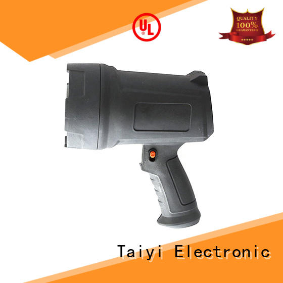 Taiyi Electronic stand 12v handheld spotlight manufacturer for search