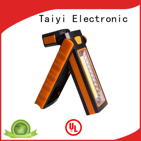 Taiyi Electronic stable portable rechargeable work lights series for roadside repairs