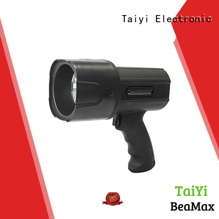 Taiyi Electronic search most powerful handheld spotlight manufacturer for camping