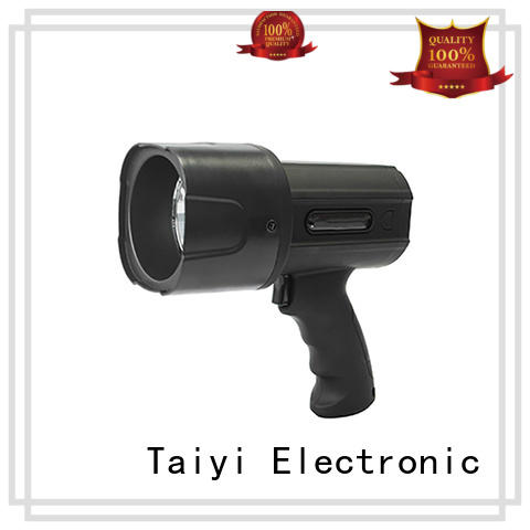 Taiyi Electronic light portable spotlight with stand wholesale for search