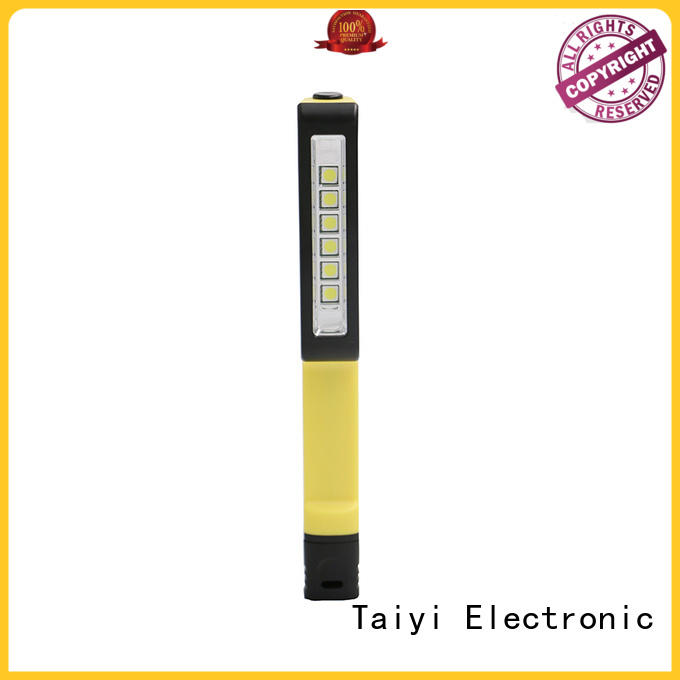 Taiyi Electronic cordless rechargeable cob work light series for roadside repairs