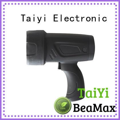 Taiyi Electronic spotlight 12v handheld spotlight manufacturer for sports