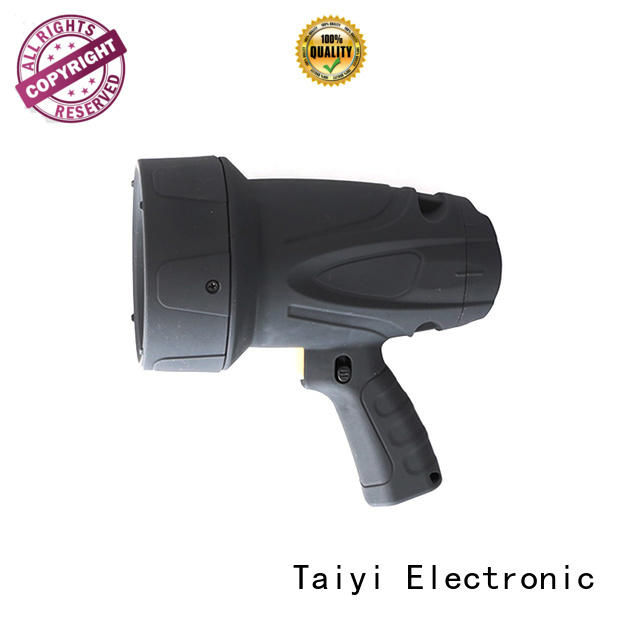 durable portable searchlight rechargeable search supplier for security