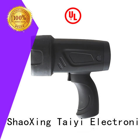 spot best handheld spotlight manufacturer for vehicle breakdowns Taiyi Electronic