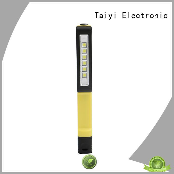 Taiyi Electronic cordless handheld work light supplier for multi-purpose work light