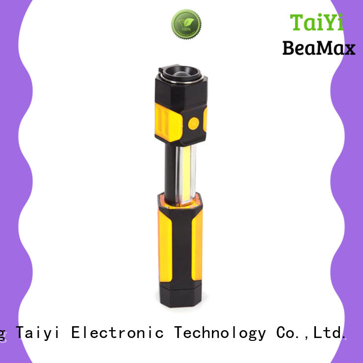Taiyi Electronic flashlight magnetic led work light rechargeable manufacturer for electronics