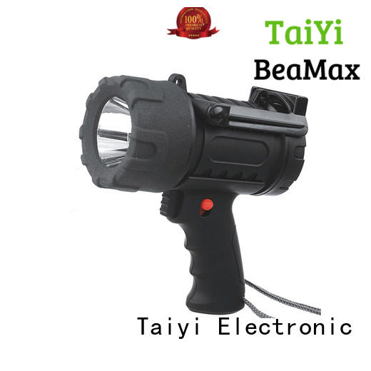 Taiyi Electronic durable portable led searchlight outdoor for camping