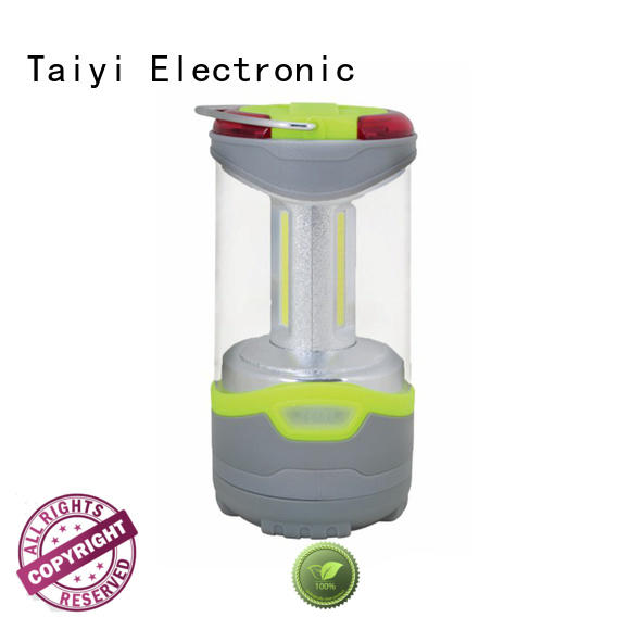 Taiyi Electronic cob rechargeable portable lantern manufacturer for multi-purpose work light