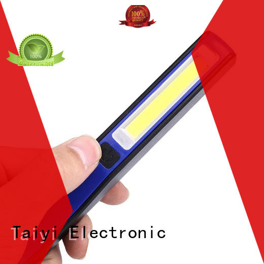 Taiyi Electronic torch cordless flood light series for roadside repairs