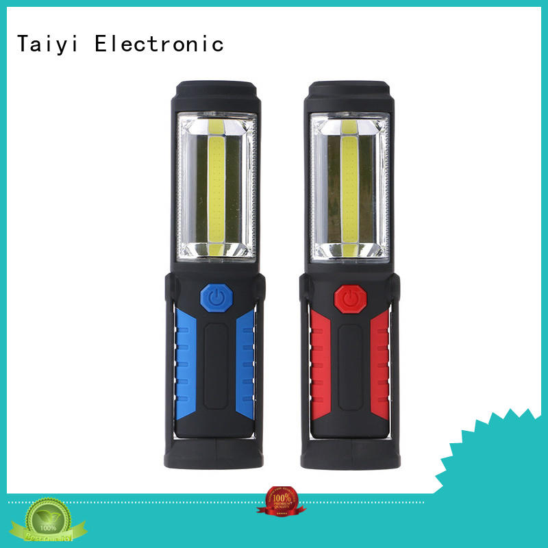 Taiyi Electronic durable 12 volt led work lights manufacturer for roadside repairs