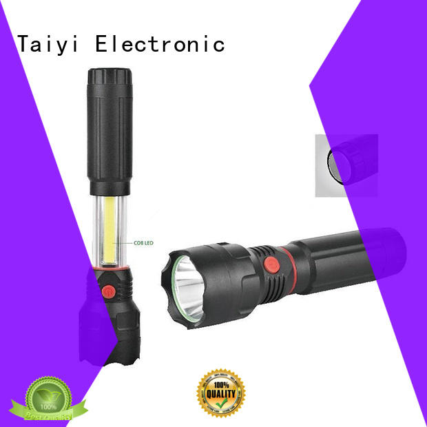 Taiyi Electronic rechargeable portable rechargeable work lights wholesale for electronics