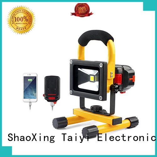 Taiyi Electronic flexible brightest led work light manufacturer for roadside repairs