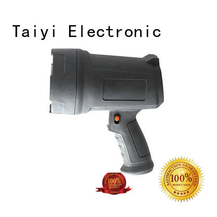 Taiyi Electronic high quality portable searchlight rechargeable searchlight for vehicle breakdowns