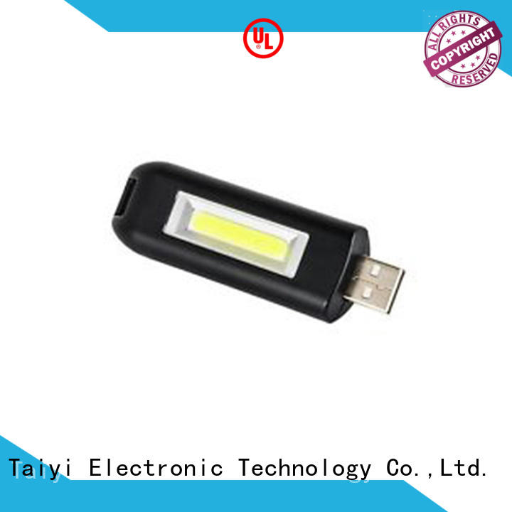 Taiyi Electronic colorful led keychain manufacturer for roadside repairs