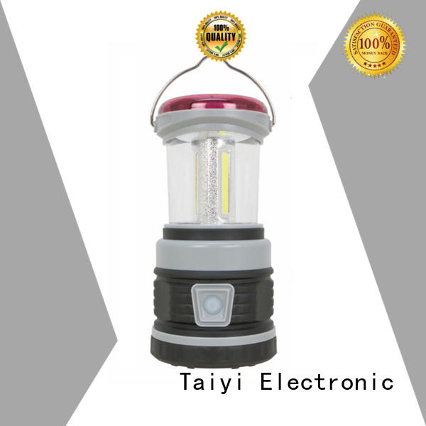 Taiyi Electronic crank rechargeable led lantern series for electronics