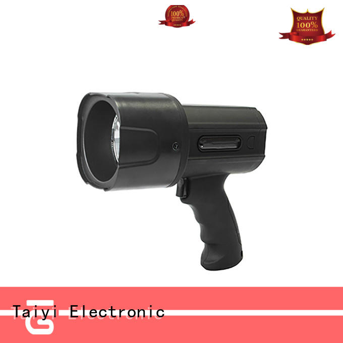 Taiyi Electronic well-chosen 12v handheld spotlight manufacturer for vehicle breakdowns