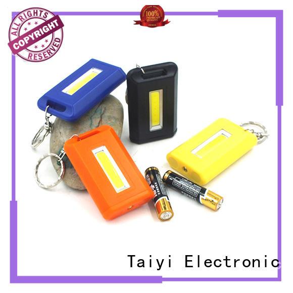 Taiyi Electronic pocket best keychain flashlight wholesale for electronics