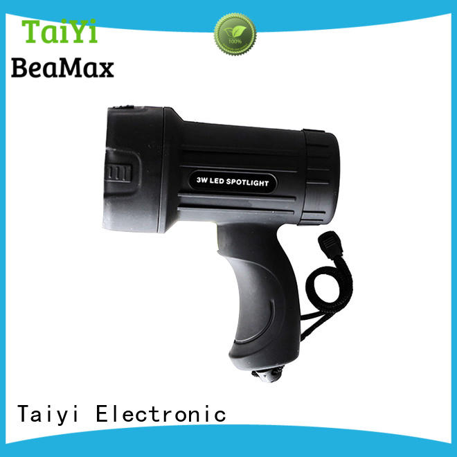 professional powerful rechargeable spotlight rechargeable supplier for sports