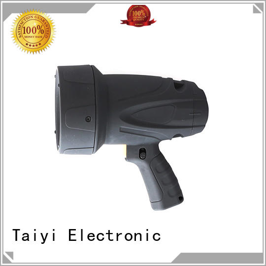 Taiyi Electronic spot powerful rechargeable spotlight manufacturer for security