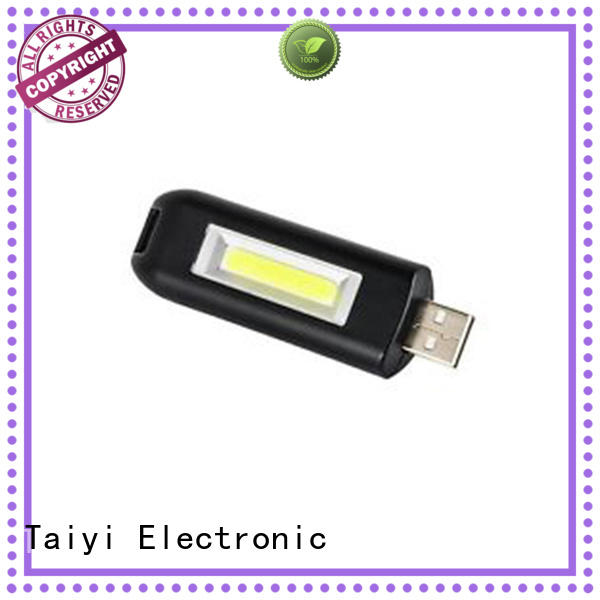 Taiyi Electronic colorful promotional flashlight keychains series for roadside repairs