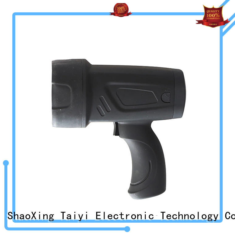 Taiyi Electronic operated 12v hunting spotlight wholesale for sports