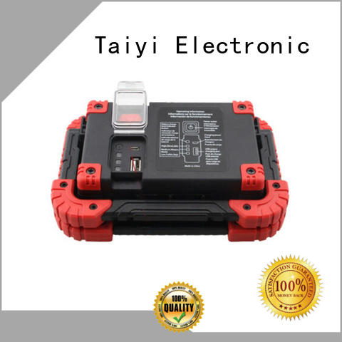 Taiyi Electronic professional rechargeable cob led work light series for electronics